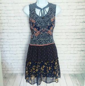[NWT!] XHILARATION floral patchwork dress